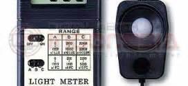Alat Uji Dan Ukur Cahaya Meter Lx 101 alat ukur cahaya parameter foot candle ama001 ama002