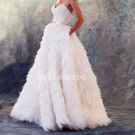 Dress Feather best 20 feather wedding dresses ideas on