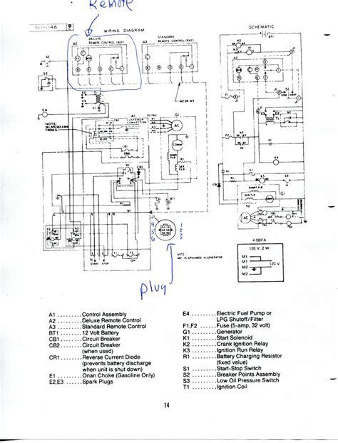 onan 4000 rv generator wiring diagram onan engine parts