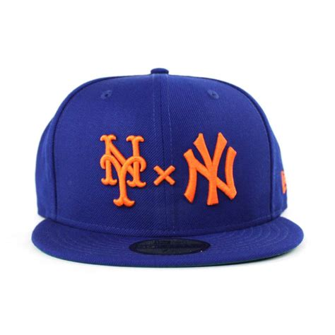 ny mets colors ny mets x ny yankees duel new era 59fifty fitted hat mets