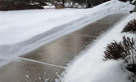 ways  deice  driveway sidewalk garden irrigation
