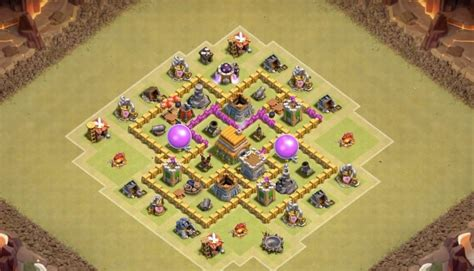 clash of clans war base 6 top 10 clash of clans maps