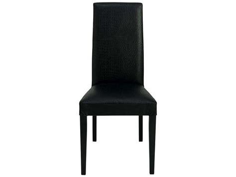 chaise noir conforama chaise en h 234 tre massif dundee coloris laqu 233 noir vente