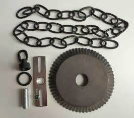 ceiling plate canopy kit w 3 of chain in blackened tin