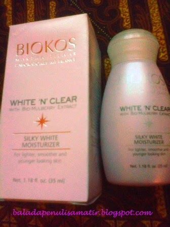 Serum Biokos White N Clear talks biokos white n clear silky white