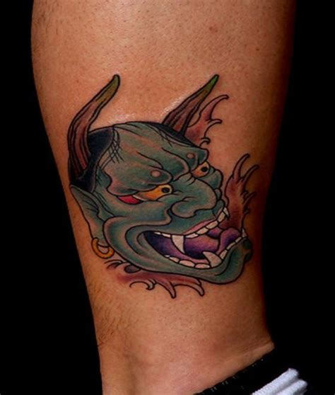 oni mask tattoo meaning oni mask tattoos designs ideas and meaning tattoos for you