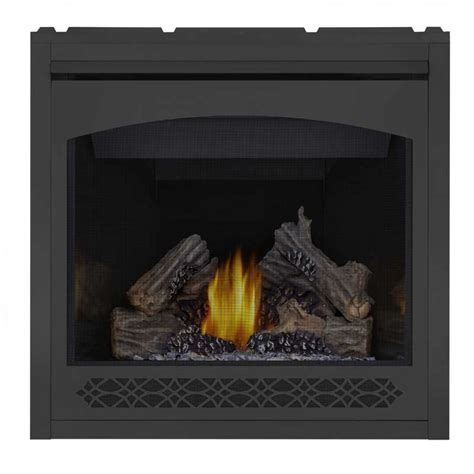 Top Vent Gas Fireplace by Napoleon B36ntre Ascent 36 Gas Top Rear Vent