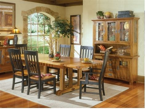 Mission Dining Room by Rustic Mission Dining Room Furniture Black And Curved Sl On Mission Style Dining Room Hutch A