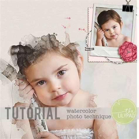 tutorial watercolor brushes rar 17 best images about digiscrap tutorials on pinterest