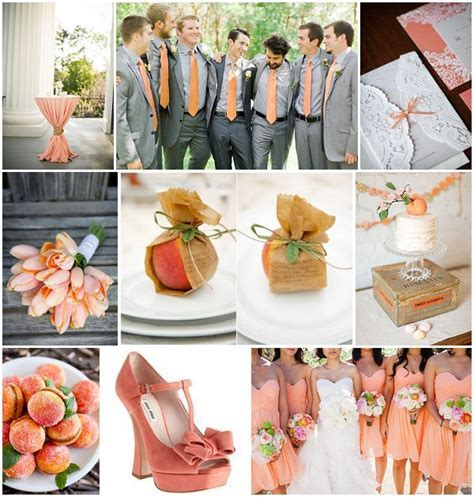 Coral wedding theme   French Wedding Style