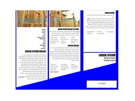 printable brochure template 31 free brochure templates word pdf template lab
