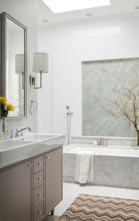 walker zanger contessa arabesco contemporary bathroom