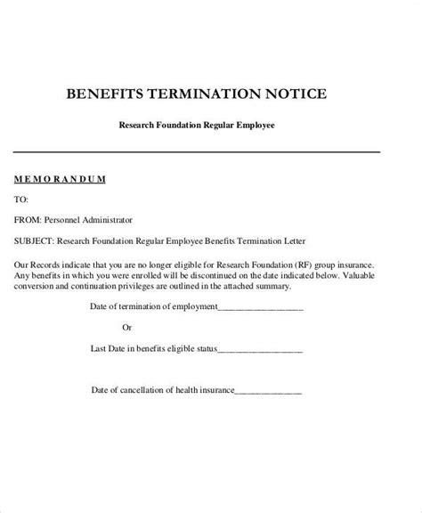 termination letter for insurance 36 exles of termination letters