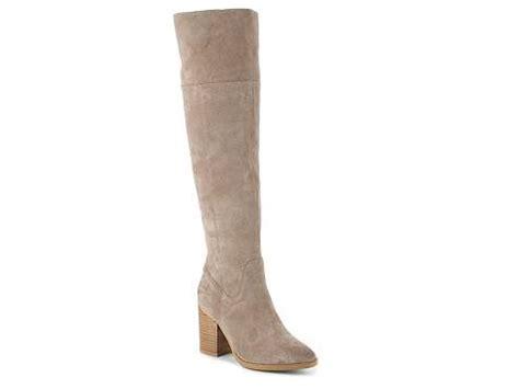 steve madden wide calf boots steve madden saudy wide calf the knee boot dsw