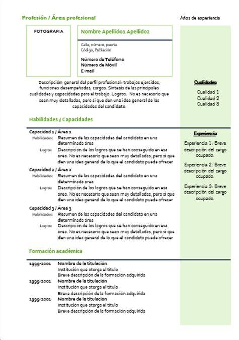 Plantilla De Curriculum Vitae Para Docentes Ayuda Docente Serviciosnet