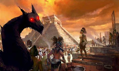imagenes delos aztecas el monstruo m 225 s temido por los aztecas la leyenda del