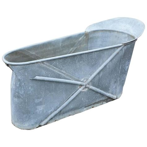 zinc bathtub for sale antique french zinc bathtub for sale at 1stdibs