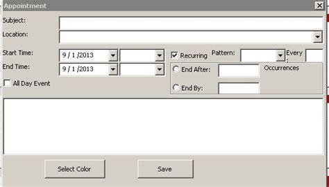 microsoft excel calendar scheduling  template