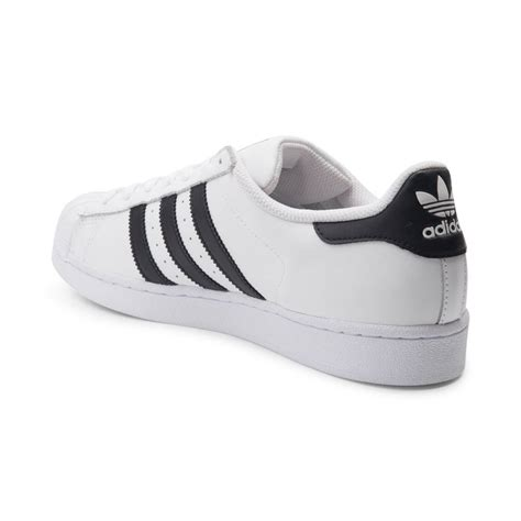 mens adidas superstar athletic shoe white 436108