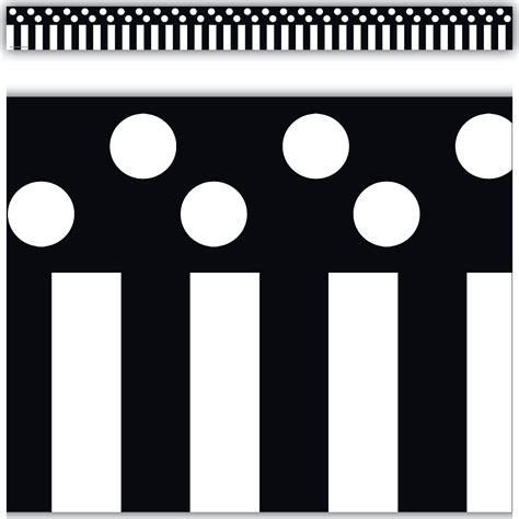 striped pears and polka dots the of being happy books black stripes and polka dots border trim