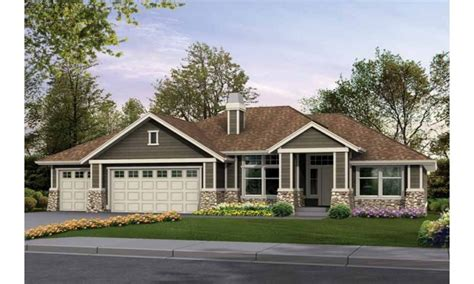rambler style homes craftsman rambler house plans custom rambler house plans