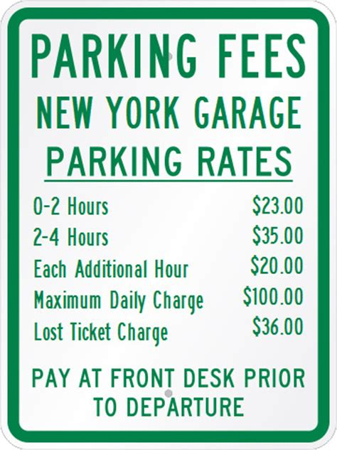 parking garage rates nyc app takes the out of paying high prices at ny parking
