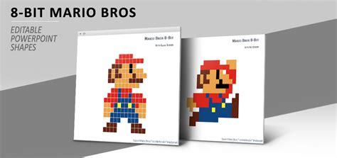 8 bit pixel mario bros for powerpoint 8 bit pixel mario bros for powerpoint