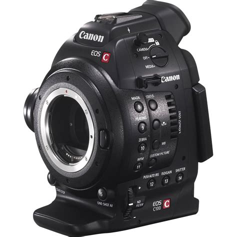 Canon Eos C Canon Eos C100 Cinema Only 6340b002 B H Photo