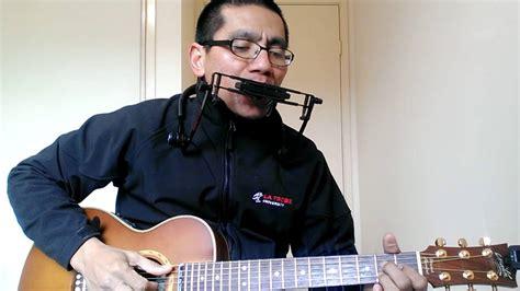 batiga dekat di hati ran acoustic cover dekat di hati guitar n harmonica cover