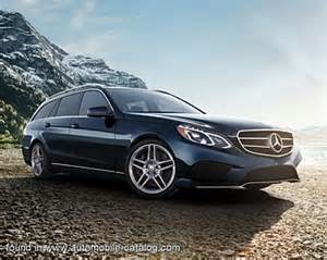 2014 mercedes benz e 350 4matic wagon (since mid year 2013
