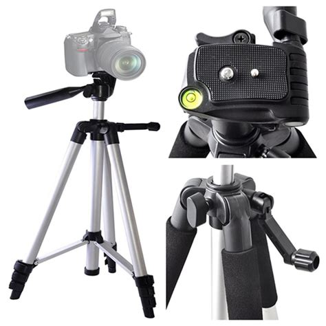 Tripod Nikon D3200 nikon d3300 d3200 d5300 d5200 d5100 dslr bag tripod accessory kit 52mm