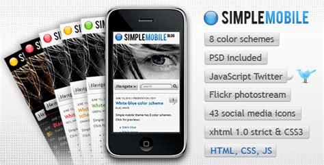 download themes for simple mobile 58 killer new themeforest themes templates 171 web appstorm