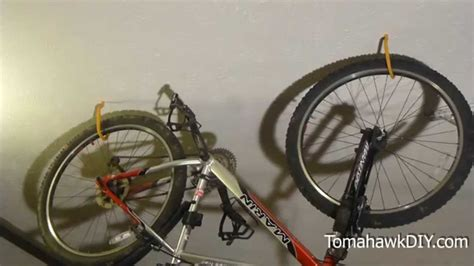 how to hang bicycles from the ceiling organize garage how to hang bikes from the ceiling