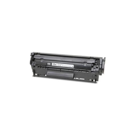 Toner Hp 12a Q2612a Black Original hp 12a q2612a black original toner cartridge