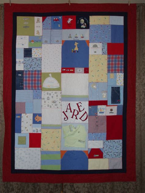 Patchwork Quilt Out Of Baby Clothes - 34 best images about quilts on quilt