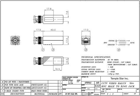cctv balun wiring diagram agnitum me