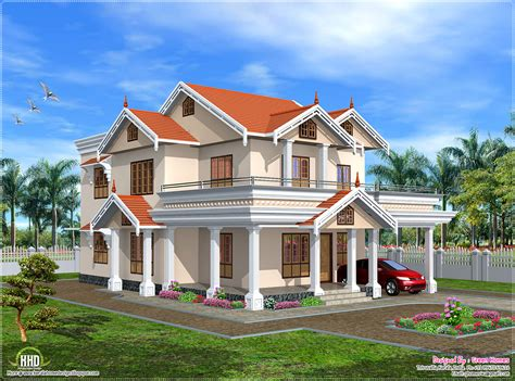Cute Home | cute kerala home design in 2750 sq feet house design plans