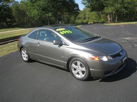 2006 honda civic coupe mpg 2006 honda civic ex 2dr coupe in east bridgewater ma
