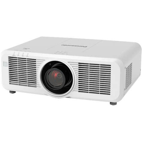 Lu Lcd Projector Panasonic panasonic pt mz670lu 6500 lumen wuxga lcd laser pt mz670lu b h