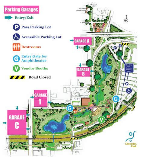 park tallahassee parking for events at capital city hitheater at cascades park in tallahassee fl