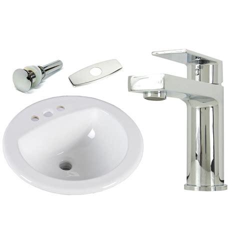 Bathroom Sinks Top Mount by Kingsman Hardware 19 In Top Mount Self