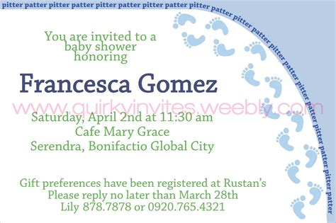 baby shower invitation lovely how to fill out a baby how to fill out a baby shower invitation gangcraft net