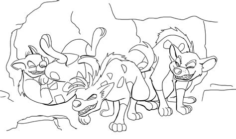 lion king hyenas coloring pages free coloring pages of simba fan art