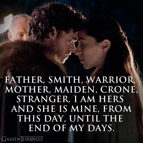 Wedding Quotes Of Thrones by Smith Warrior Maiden Crone I