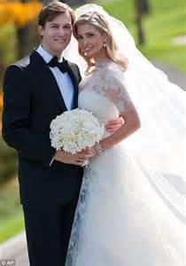 ivanka trump says i do as she weds publisher fiance in
