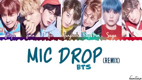 download mp3 bts mic drop bts 방탄소년단 mic drop steve aoki remix lyrics color