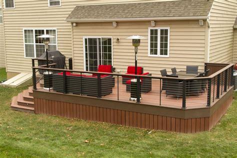 wooden deck railing planters med art home design posters