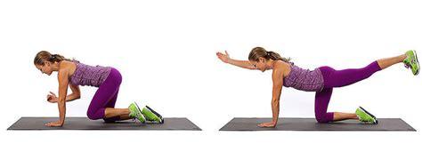 esercizi lombari a casa alternating quadruped esercizio per tonificare i muscoli
