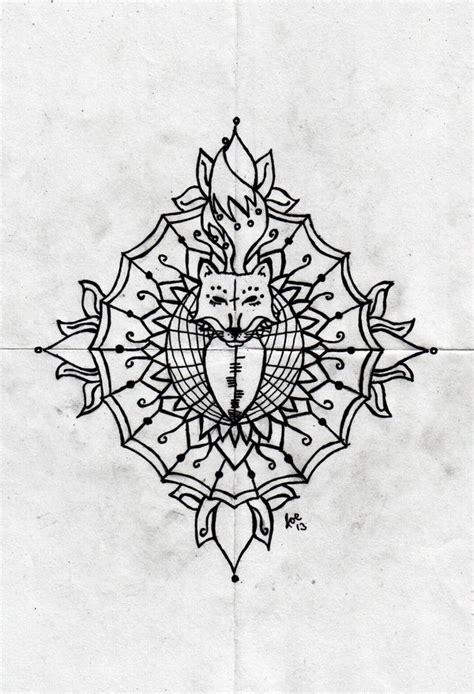 tattoo mandala fox fox mandala by romancer on deviantart