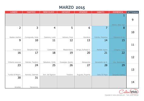 calendario 2016 mensile plan calendario mensile mese di marzo 2015 con le festivit 224